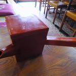 朝日屋 - 蕎麦湯