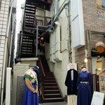 クワランカ カフェ - お店の入り口1