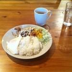 LAX - 生姜焼き定食、ランチ