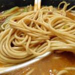 中国料理随園 - 「担々麺」ストレートの細麺(硬め)