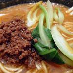 中国料理随園 - 「担々麺」肉味噌・青梗菜