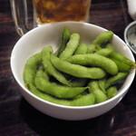空島 - 熱々の枝豆
