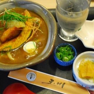 玉川 - 料理写真:豊橋カレーうどん(ミニサイズ)