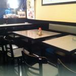 海浜食堂 たけだ - テーブル席