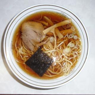 谷ラーメン - 料理写真:あっさり味の東京ラーメンです