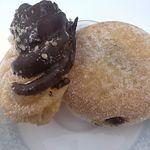 mister Donut - エンゼル&カスタードフレンチ、カスタード&チョコクリーム