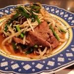 東華飯店 - ニラレバ炒め ¥950