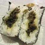 おだむすび - 高菜炒め 160円
