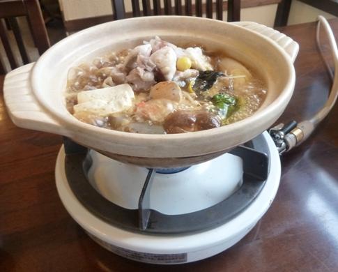 御食事処 日野治 - あんこう鍋