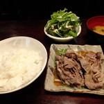 炭火料理 東や - 牛しゃぶ胡麻ダレポン酢:700円