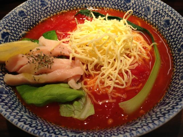 東京煮干屋本舗 - トマトチーズラーメン