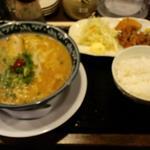 大福 - 口福定食(とんこつ醤油)