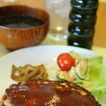 ケーティーホールギャラリーぶらりカフェ - ヘルシーで女性に嬉しい豆腐ハンバーグランチ♡