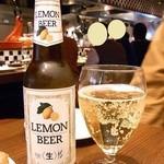 炭火焼バル Roen - レモンビール¥700♪