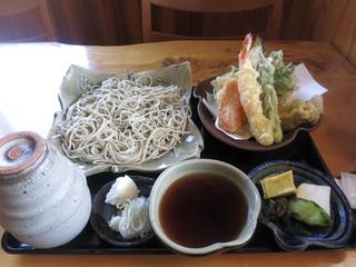 蕎麦遊 いしかわ - 粗挽き十割そば&天ぷら