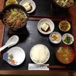 山肉専門店 星野屋 - 料理写真:熊鍋御膳