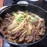山肉専門店 星野屋 - 熊鍋( ̄_ ̄*)じゅるぅうううう