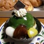 パティスリー モリタ - 抹茶の香り336円