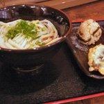 吉祥寺麺通団 - 2007/08/13 撮影 ぶっかけうどん(中) 450円