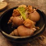 魚真 - 煮貝 580円