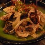 魚真 - 豆アジの南蛮漬け 480円