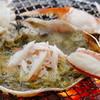海辺の宿 長兵衛 - 料理写真:「甲羅味噌焼き」焼きだけがもつ蟹の甘みをご賞味ください。