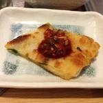 韓国家庭料理 マンナ - おかず1チヂミ