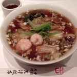 Tenshinhanten - 海鮮湯麺1,050円