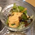 韓国家庭料理 マンナ - おかず3サラダ