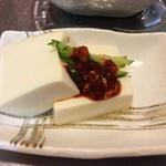 韓国家庭料理 マンナ - おかず5韓国風冷奴