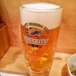 海鮮屋台おくまん - 生ビール
