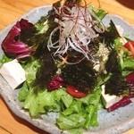 瀬戸海人 - チョレギサラダ。