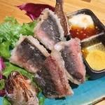瀬戸海人 - グルクン唐揚げ。 The 沖縄料理って感じ。