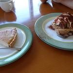 風の里 - 本日のタルトはベイクドチーズケーキ たま~に有るテラミス