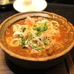 吉粋 - 米沢牛すじの で味噌ぅす(デミソース)煮込み (