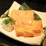 吉粋 - 明太クリームチーズのだし巻き玉子 (2013/11)