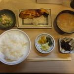 季節料理 千とせ - 銀ダラもろ味噌漬け焼き定食
