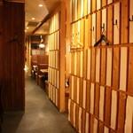 串かつ居酒屋 すい藤 - 第二半個室 2名席+4名席 (貸きりOK