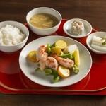 蓮根荘 - 野菜料理のセット