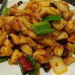 22408851 - 鶏肉の辛子炒め