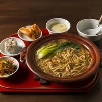 蓮根荘 - 麺のセット