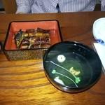 22416302 - 蒲焼き定食(並) 1800円