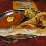 インドカレーハルディ - 料理写真:キーマカレーのランチ