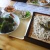 小判 - 料理写真:ざるそば定食