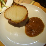 ボンマルシェ食堂 - 玉葱のロースト