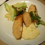 ボンマルシェ食堂 - 海老のソーセージ仕立て