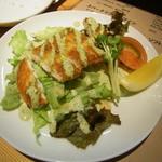 ボンマルシェ食堂 - カジキマグロのチーズパン粉焼