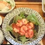 22418931 - 週替わり定食(えびチリ)(900円)
