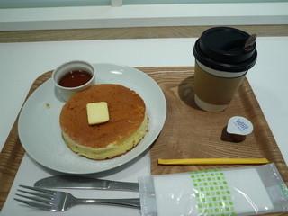 プアオーバー 横浜店 - ハーフパンケーキセット