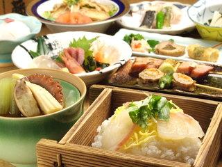 串焼き・魚 新宿宮川 - 大好評!真鯛ひつまぶしセイロ飯コース